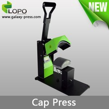 Pluto branded direct factory manaul heat press cap printing machine from Lopo