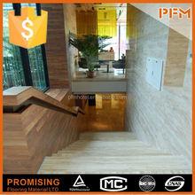 high polished natural laminate flooring stair nose