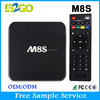 Original M8S 2G/8G wifi Android 4.4 Amlogic S812 hd digital tv set top box