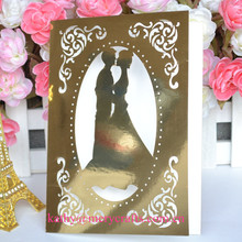 Wedding,wedding Occasion and Party Decoration Event & Party Item Type gold Personalized Art Deco Wedding Invitations cards
