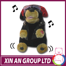 Wholesale Music dancing Electronic plush dog