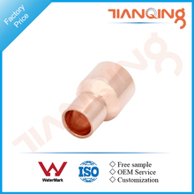T501 Factory price pipe fitting copper reducing coupling