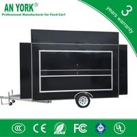 FV-55 best e food cart trailer mobile food van mobile snack food cart