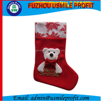 Promotion Christmas Festival Woolen Christmas Stocking