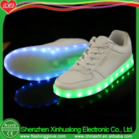LED flashing shoes for adult and kids