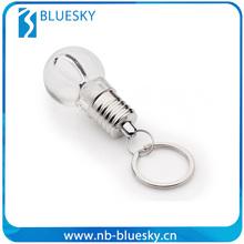 Aluminum led ring light with key chain