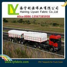 Covering PVC Coated Tarpaulin Truck Cover Fire Retardant 650gsm 1000d*1000d 20*20