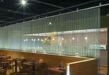 La cortina de metal decorativos, Metálico de la cortina del oro para separador de habitaciones