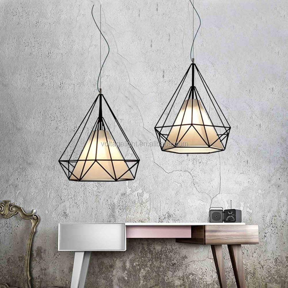 heet verkoop moderne vintage industriële loft zwarte draad lamp ...