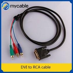 DVI to RCA cable converter optical to rca