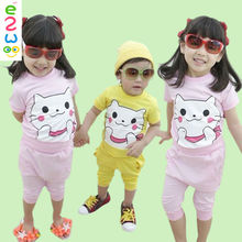 Short Sleeve Suits Cheap Newborn Baby Clothing Set