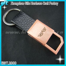 Custom promotional Leather Keychain at wholesale price