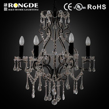 Simple creative style round crystal ball chandelier