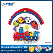 Educational toys Cartoon Music Train, baby learning toy with English