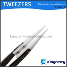 Electronic cigarette accessory ceramic tweezers stainless stell tweezer in stock