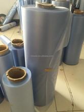 self adhesive pvc transparent film hot sale book cover film hair bag material
