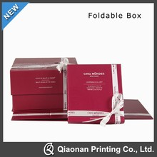 Fashion and high quality foldable gift box made in china