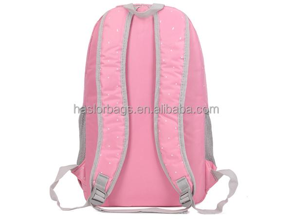 Gros rose mode haute école sac à dos sac à dos pour les adolescentes