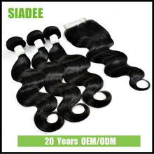 SIADEE For Beauty Straight Hair Bundles integration wigs with 100% remy human hair