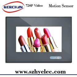 7 lcd advertising displays LCD Open Frame fairs and events pos Advertising playersbackpack display