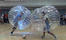 Popular sale inflatable bubble bumper soccer loopy balls