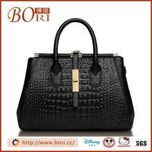 wholesalers hong kong genuine leather women fashion handbag