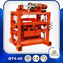 block making machine price QT4-40 cement brick block making machine price nepal