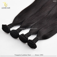 100% Human Hair Top Quality No Shedding No Tangle Full Cuticle Dyeable Custom Sticker Hair Extensions