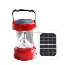 Rechargeable solar hand cranking dynamo lantern for camping