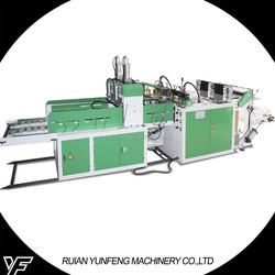 2015 Best sales Heat Sealing&Heat Cutting Shopping Bag Making Machine