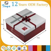 Handmade luxury birthday cake paper box wholesale