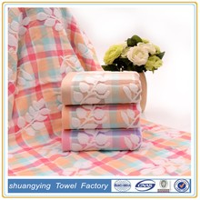 factory Customized jacquard towel cotton 100%