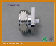7/16 DIN Connector male Flange (Panel) With Extended 7mm Insulator and 3mm Pin
