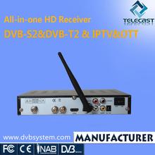 TV Receiver DVB-S2 DVB-T2