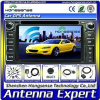 High quality auto positioning satellite antenna for car