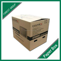 CHINA SUPPLIER CUSTOM MADE CORRUGATED PAPER CARTON BOXES FOR SHIPPING TV SETS WITH HIGH QUALITY