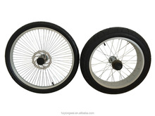 """20"""" and 24"""" alloy wheelset for chopper bike bicycles"""