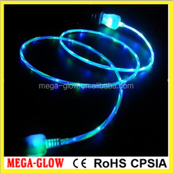 New item !!! two-color LED USB cable