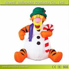 High quality custom chrismas snowman decoration for customer