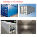20ft y los 40ft contenedores para la venta de patio de contenedores