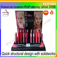 Counter pvc/acrylic cosmetic display