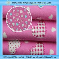 XFY organic cotton flannel fabric uk