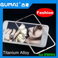Wholesale free shipping tempered glass mobile phone use colorful titanium alloy tempered glass