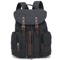 factory supply high quality full color canvas men traveling laptop back bag