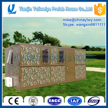 Low cost prefab house , Nice prefab container house can be folded