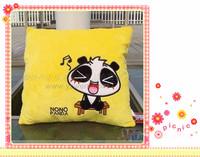 good design! panda and bearcat shaped pillow cushion