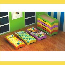 Children Furniture Classic Design Wooden Beds Steel Pipe Bunk Bed