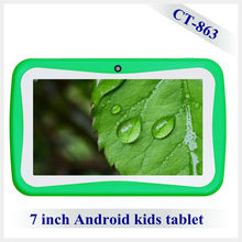 """1gb + 8 gb 7"""" kid android 4.0 tablet pc , children android tablet pc with kid software"""