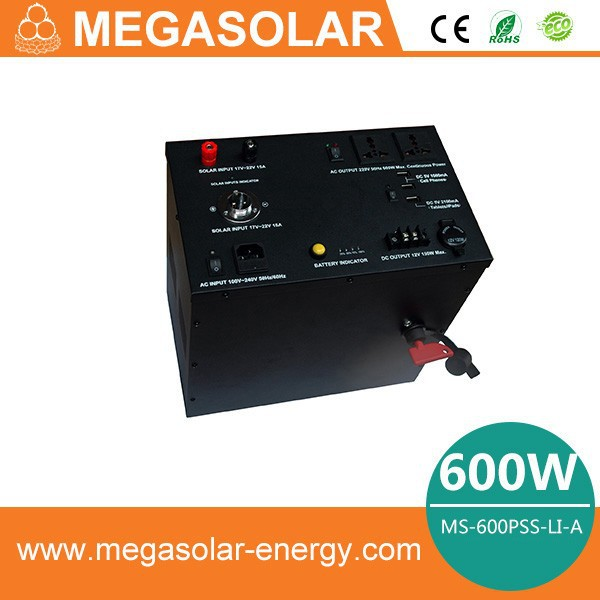 Emergency High Power Industrial Off Grid Portable Solar Generator For Home Use