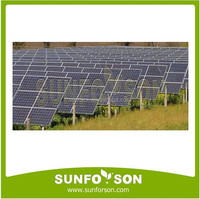 Solar PV Ground Mounted Racking System , PV Ground Mounting Systems
